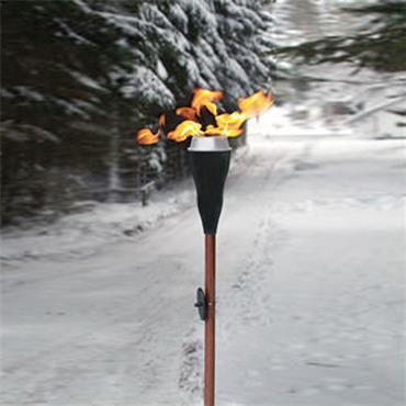 Outdoor Lamp/Torch Oil Lit