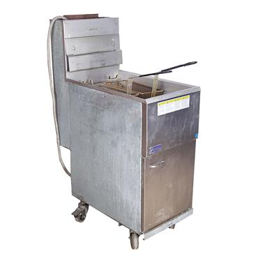 Deep Fat Fryer Gas 2 Basket (requires large red propane cylinder)