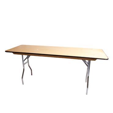 "Rectangular  Table 8ft x30"""