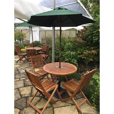 Garden Furniture *(Set of table & 4 chairs)