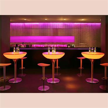 LED POD Champagne Table