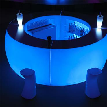 Milano Curved Bar - 1 Quadrant (168 cm w / 92cm d / 102cm h)