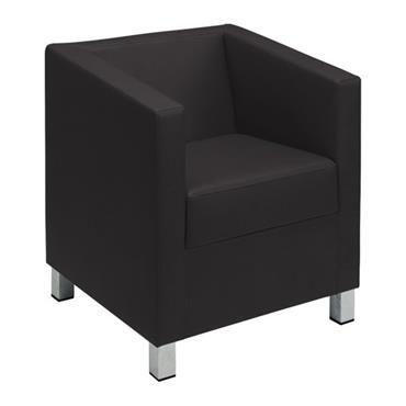 Tub Chair / Armchair Black