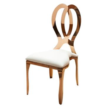 Sydney Chair - Rose Gold