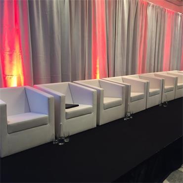 "Miami Sofa - Tub/Armchair white 66cm/26"" wide"
