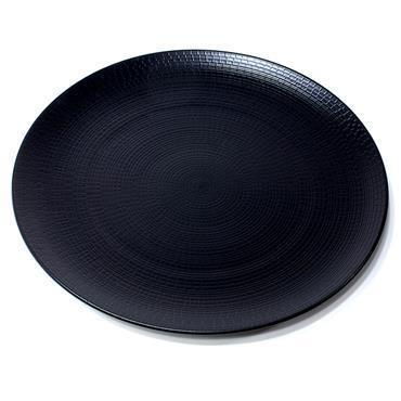 """Black Dinner Plate 28cm/11"""""""