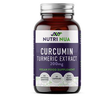 NUTRI NUA CURCUMIN TUMERIC EXTRACT 60 CAPS