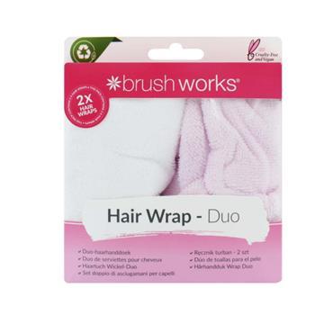 BRUSH WORKS HAIR WRAP DUO