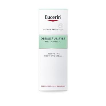 EUCERIN DERMO PURIFYER OIL CONTROL ADJUNCTIVE SOOTHING CREAM 50ML