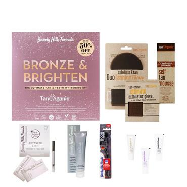 BRONZE AND BRIGHTEN TAN & TEETH WHITENING GIFT SET