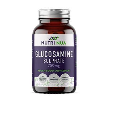 NUTRI NUA GLUOSAMINE SULPHATE 60 CAPS