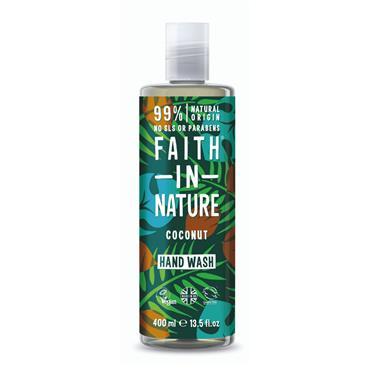 FAITH IN NATURE COCONUT HANDWASH 400ML