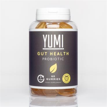 YUMI HEALTH GUT HEALTH GUMMIES 60 CAPS