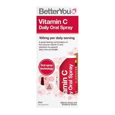 BETTER YOU VIT C NATURAL CHERRY N BLUEBERRY FLAVOUR 25ML