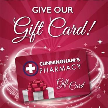 Cunningham's Pharmacy Gift Card