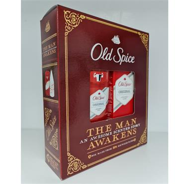OLD SPICE GIFT SET VINTAGE DEODRANT STICK AND AFTER SHAVE LOTION