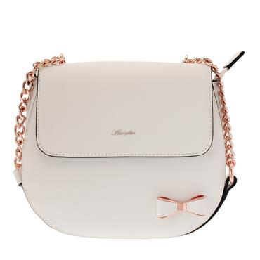 MENDE FLAPOVER BOW DETAIL SADDLE BAG