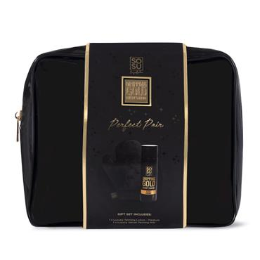 SOSU DRIPPING GOLD PERFECT PAIR MEDIUM LOTION BAG