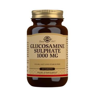 SOLGAR GLUCOSAMINE SULPHATE 1000MG E1291