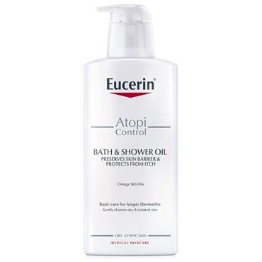EUCERIN ATO CONTROL BATH & SHOWER OIL 400ML