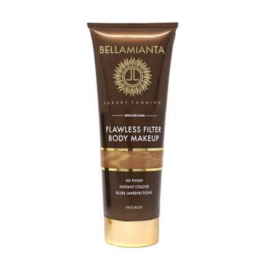 BELLAMIANTA FLAWLESS FILTER BODY MAKEUO MED/DARK