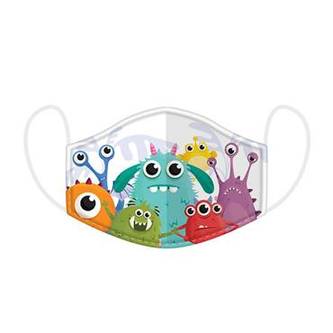 FACE MASK KIDS MONSTERS