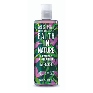 FAITH IN NATURE LAVENDER HAND WASH 400ML