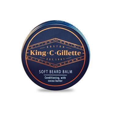 KING C GILLETTE SOFT BEARD BALM 100ML