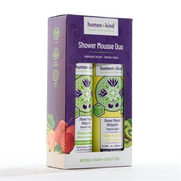 HUMAN AND KIND SHOWER MOUSSE DUO
