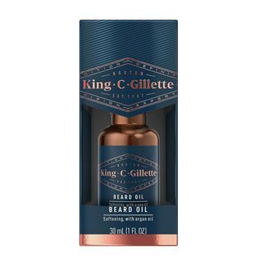 KING C GILLETTE BEARD OIL 30ML