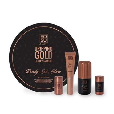 SOSU DRIPPING GOLD READY SET GLOW BOX SET