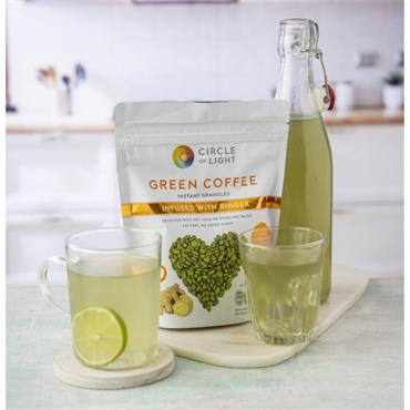 CIRCLE OF LIGHT GREEN COFFEE GINGER 200GR