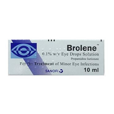 BROLENE 0.1 EYE DROPS 10ML
