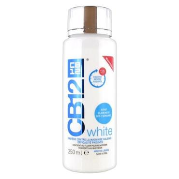 CB12 WHITE ALC/FREE M/WASH