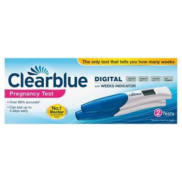 CLEARBLUE DIGITAL 2P