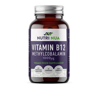NUTRI NUA VITAMIN B12 30 CAPS