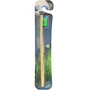 WOOBAMBOO ADULT SOFT BAMBOO TOOTHBRUSH 1S