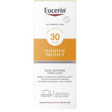 EUCERIN SUN BODY EXTRA LIGHT LOTION SPF30 DRY SKIN 150ML