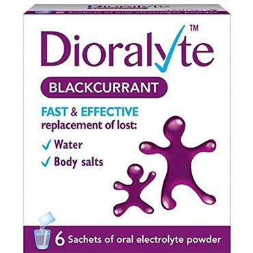 DIORALYTE BLACKCURRANT 6 PK