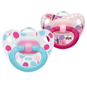 NUK HAPPY DAYS SOOTHER 6 TO 18 MONTHS