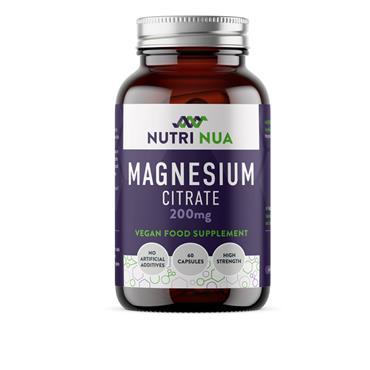 NUTRI  NUA MAGNESIUM CITRATE 60 CAPS