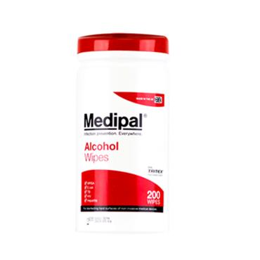 MEDIPAL ALCOHOL WIPES 200S
