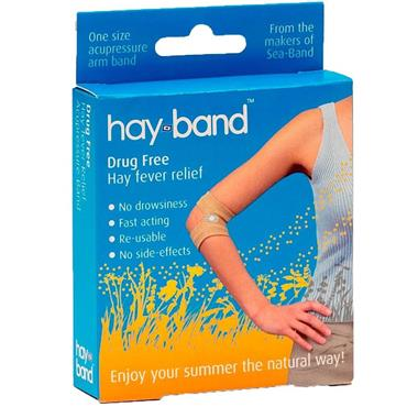 HAY BAND DRUG FREE HAY FEVER RELIEF ONE SIZE