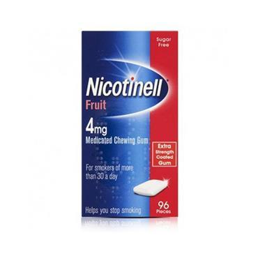 NICOTINELL 4MG FRUIT 96 PK