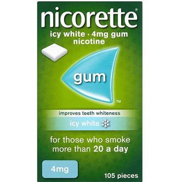 NICORETTE ICY WHITE 4MG