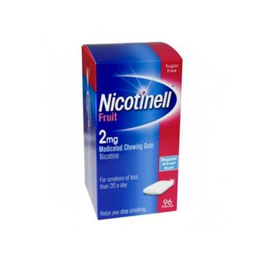 NICOTINELL 2MG FRUIT 96 PK