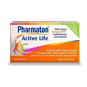 PHARMATON ACTIVE LIFE CAPLETS 30CAPS