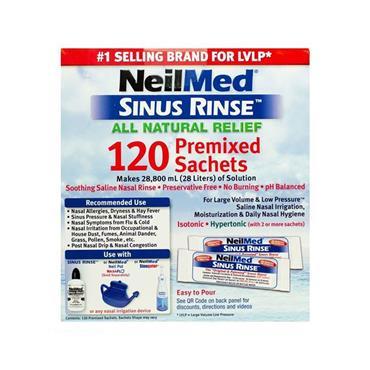 SINUS RINSE REFILL 120 SACHETS