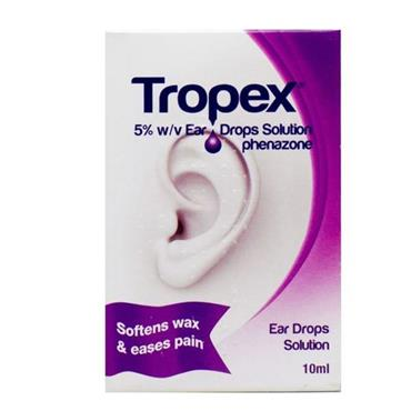 TROPEX EAR DROPS 5 10ML