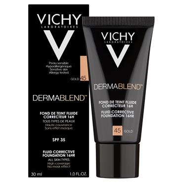 VICHY DERMABLEND CORRECTIVE FOUNDATION 45